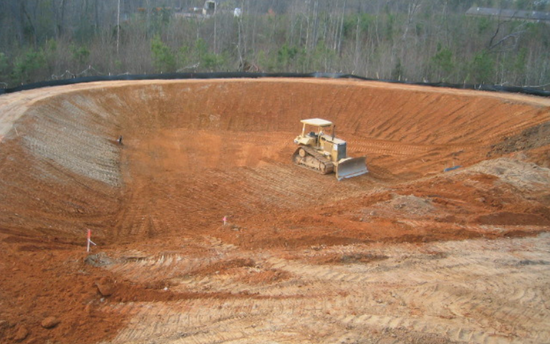 Kleenco Constrution Retention Pond